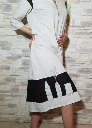 Красивое платье бохо стиль wforwoman