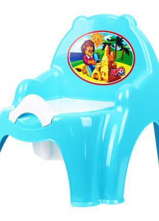 Горшок детский кресло ТехноК 4074TXK (Синий)
