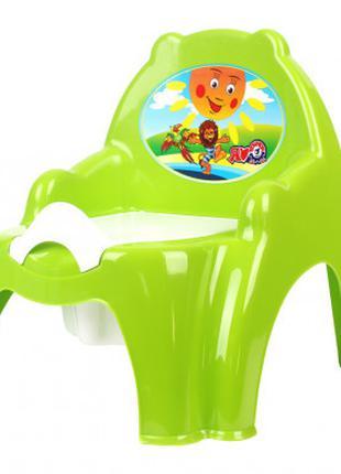 Горшок детский кресло ТехноК 4074TXK (Зеленый)