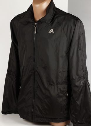 Ветровка куртка мужская Adidas Black Размер XL/52 Распродажа