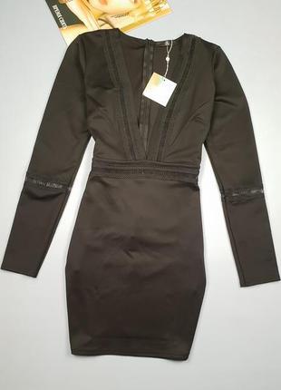 Новое  платье с v-образным вырезом missguided