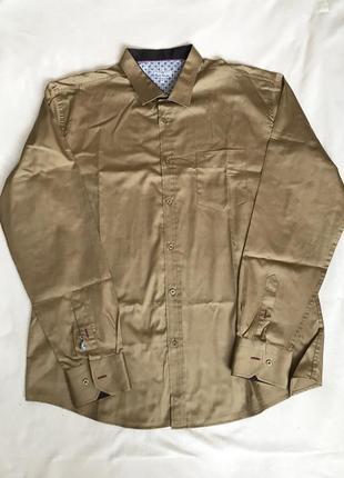 Рубашка горчичного цвета Paul Smith