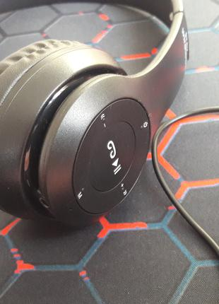 Наушники беcпроводные P 47 с Bluetooth, встроенный FM, MP3