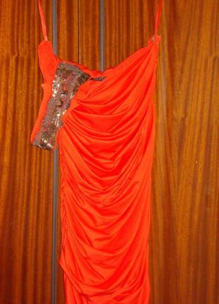 Красное платье Love republic 44/S размер