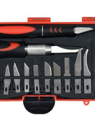 Набор модельных ножей скальпелей Yato YT-75370