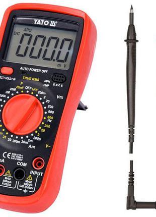 Мультиметр цифровой Yato YT-73083