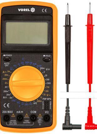 Мультиметр электронный с LCD-дисплеем Vorel 81775