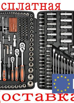 Набор инструмента для автомобиля с ключами Sthor 58691