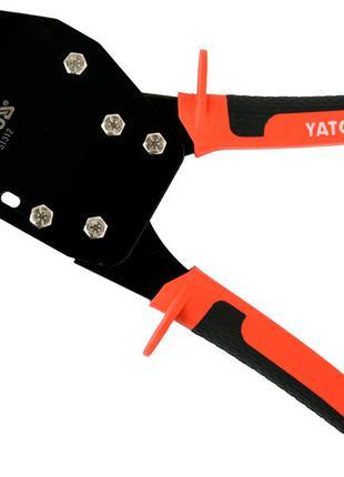 Клещи для металлических профилей под гипсокартон Yato YT-51312