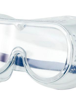 Закрытые силиконовые защитные очки Vorel 74508