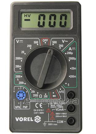 Цифровой мультиметр Vorel 81780