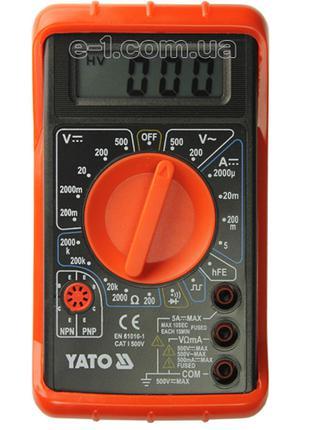 Многофункциональный тестер напряжения Yato YT-73080