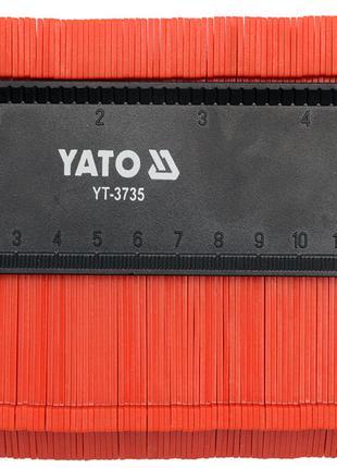 Шаблон 125мм для копирования профиля Yato YT-3735
