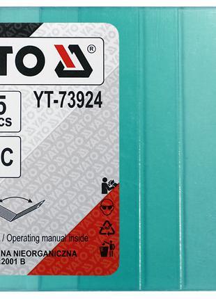5 защитных стекол 98 х 123 мм для масок хамелеон Yato YT-73924