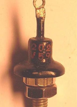 5 штук Диод Д202 сплавной, кремниевый.