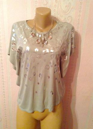 Блуза- футболка f&f. размер s-m