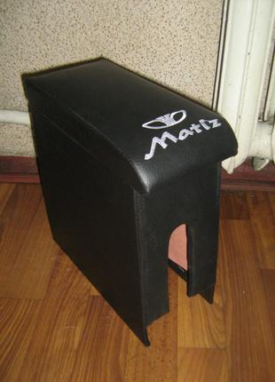 Тюнинг Подлокотник Daewoo Matiz (Деу Матиз) черный