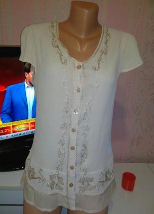 Блуза (вискоза) м ка