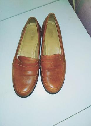 Кожаные туфли hotter 37 - 38 р