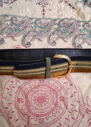 Ремень из искусственной кожи и текстиля