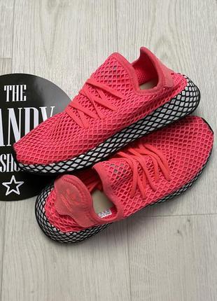 Стильные кроссовки adidas deerupt, размер 38