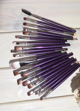 Кисти для макияжа набор 20 шт purple probeauty