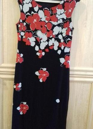 Миди-платье в цветы от precis