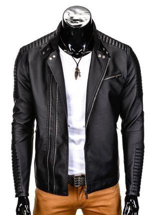 Кожаная куртка K325 Ombre M