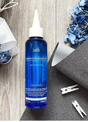 Филлер для волос с эффектом ламинирования lador perfect hair f...