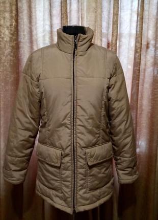 Отличная удлиненная куртка на синтепоне esprit