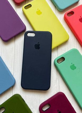 Чехол Бампер iPhone 5, 5s, SE оригинальный original silicon case