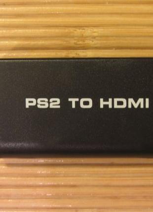 Видео переходник PS2 to HDMI для Sony PlayStation 2 и 3 компонент
