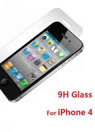 Защитное стекло iPhone 4 / 4s