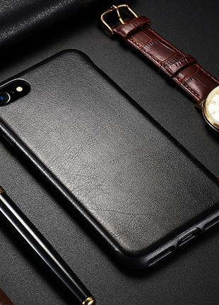 Бампер из кожи на Samsung Galaxy S8