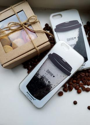 Бампер Samsung S7 edge кофе переливающийся