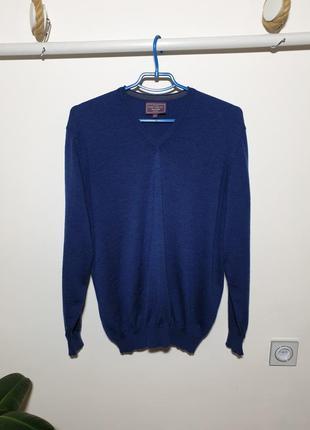 Кофта пуловер шерсть мериноса италия john lewis