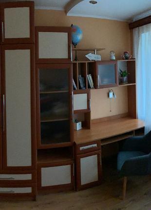 Стенка с компьютерным столом.Шкаф.Пенал.Письменный стол.Раздельно