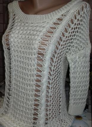 Ажурный свитер от cherokee