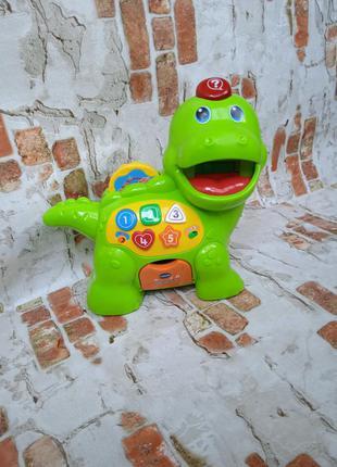 Развивающая игрушка музыкальный динозаврик от vtech