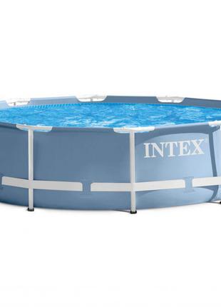Бассейн каркасный Intex 28700 305 х 76 см Серый (28700_int)