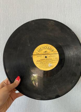 пластинка виниловая долгоиграющая мелодия Радмила Караклаич