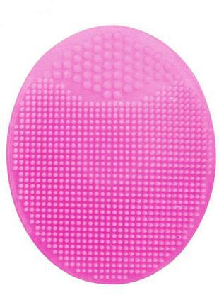 Силиконовая щетка массажер для умывания и очищения кожи лица C...