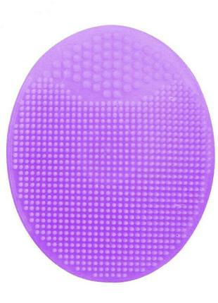 Силиконовая щетка массажер для умывания и очищения кожи лица V...