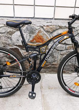 Гірський двохпідвісний велосипед CROSSRIDE EXPLORER 26 17 Comfort