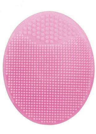 Силиконовая щетка массажер для умывания и очищения кожи лица L...
