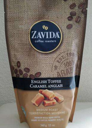 Кофе Zavida Английский Тоффи