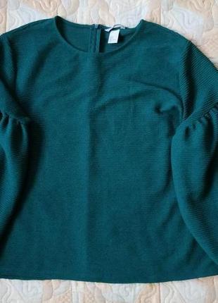 Шикарнейшая блуза с объемными рукавами