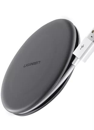 Беспроводная зарядка Ugreen Qi Fast Wireless Charging Pad 10W