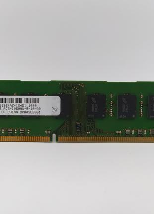 Оперативная память Micron DDR3 4Gb 1333MHz PC3-10600U (MT16JTF...
