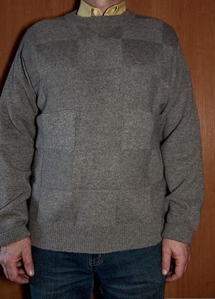 Мужской свитер из шерсти верблюда